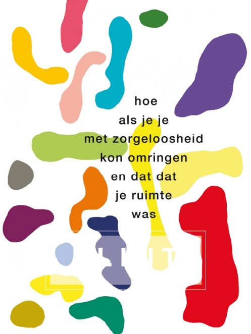 Poëziekaart 'hoe als je je'